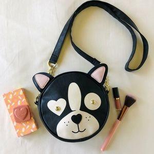 Betsey Johnson Round  Cat Crossbody Bag